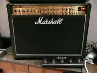 MARSHALL Triple Super Lead TSL122 Combo w/footswitch and cover