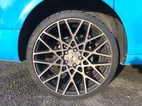 "4 x Genuine Rotiform BLQ 19"" Alloy Wheels"