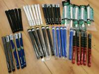 Golf Grips, Shafts, Putter Grips.
