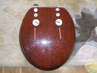 Burlington toilet seat and fittings