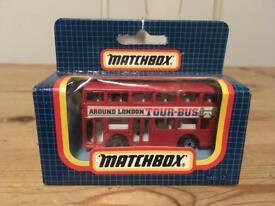 Match box - around London tour bus