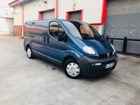 VAUXHALL VIVARO 2700 DCI 100 SWB 2 TWIN SLIDING DOOR DRIVES MINT 2004 FSH 4 NEW TYRES FULLYPLY LINED