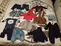 USED CLOTHING FOR BOY 3 - 6 MONTHS