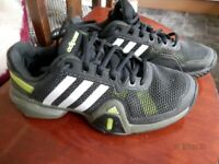 Adidas Barricade Trainers Size 6