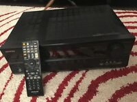 Onkyo TX SR577 7.1 AV Receiver & Eltax Monitor 3 Speakers