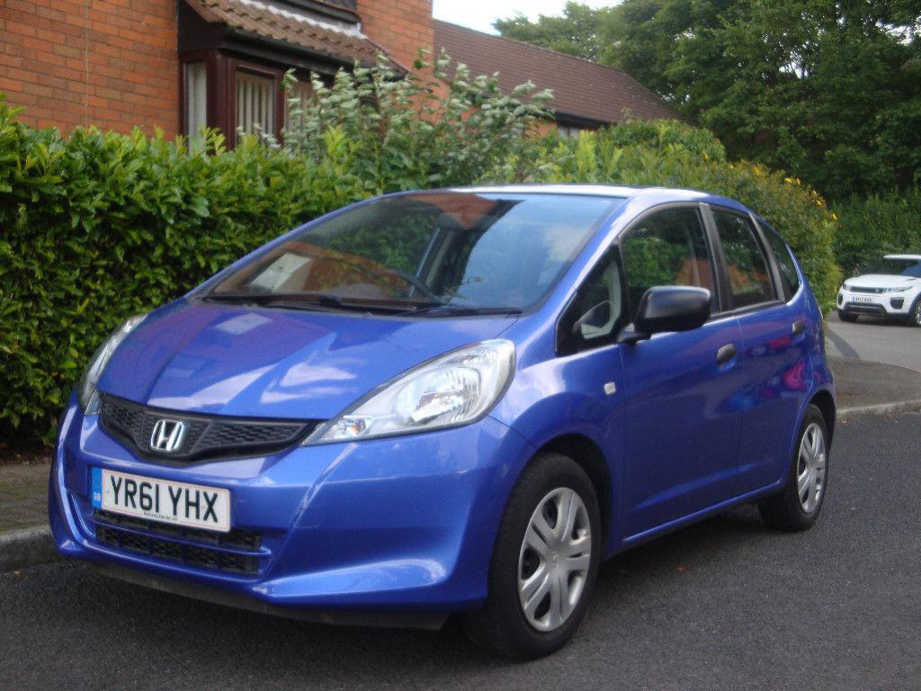 HONDA JAZZ 1.2 BLUE 61 REG 2011 FULL SERVICE HISTORY GOOD CLEAN ECONOMICAL  FIRST CAR CHEAP