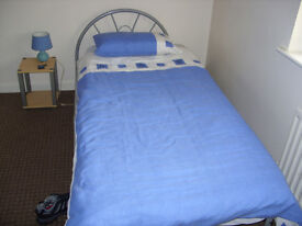 single bed including matteress exellent condition