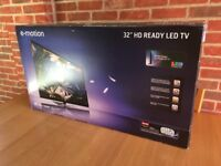 "E-motion 32"" HD READY LED TV with the stand"
