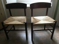 2x pair of dining chairs