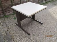 SMALL WORKBENCH, IDEAL FOR HOBBIES, VERY STURDY