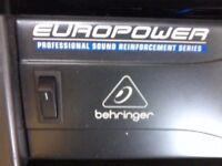 Behringer EP2000 Europower 2000W Stereo Power Amplifier