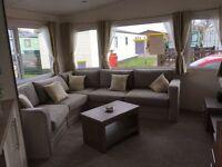 Modern Static Caravan with SITE FEES. Clitheroe Lancashire. Pet friendly