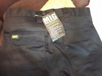 Mens work cargo trousers, brand new in original packaging.