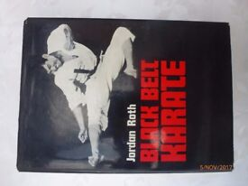 Book - BLACK BELT KARATE by Jordan Roth