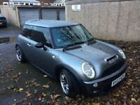 Mini Cooper s metallic grey supercharged