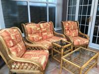 Conservatory Furniture - Settee, Chairs and Tables