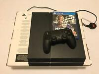 PlayStation 4 500gb with 1 controller