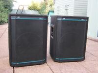 Peavey HiSys-2 PA Speakers for pa, disco dj