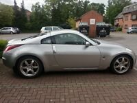 350z coupe, GT Pack, Universal Silver