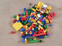 Big Lego duplo lot with excavator (set 1)