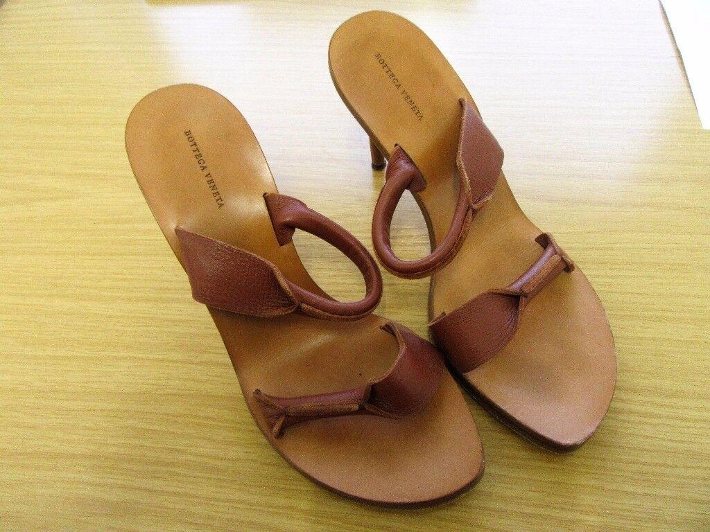 Italian Bottega Venneta Dress Sandals / Shoes