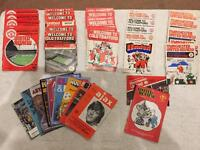 Manchester United Football Programmes