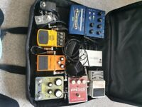 Pedal train and pedals