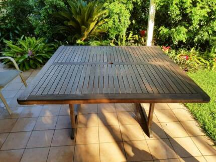 Square Teak Outdoor Table (1.5m x 1.5m)