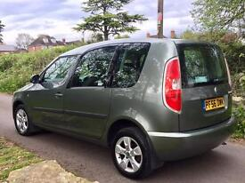 Just Arrived & Awaiting Preparation....Skoda Roomster 2 TDI 1.9 Demo + 1 Lady Owner with FSH