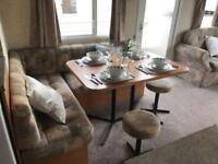 8 berth caravan for holiday rental Skegness