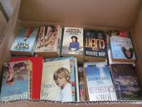HUGE BOX OF MIXED BOOKS
