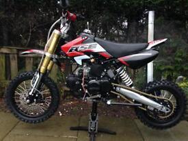 125cc dirt bikes Manuel gears NEW