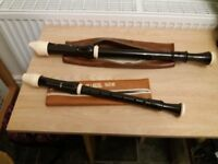 AULOS Treble and Tenor Recorders for sale
