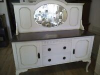 Gorgeous Antique big Sideboard with Mirror.