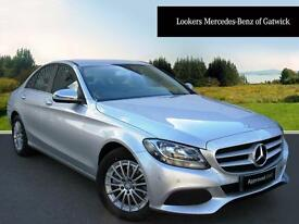 Mercedes-Benz C Class C220 D SE EXECUTIVE (silver) 2016-09-05