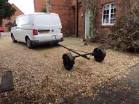 Combination Trailer - was for a boat - Can be shortened - Project?