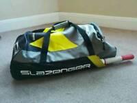 Slazenger Cricket Set (Youth) - Bag, Bat, Pads and Gloves