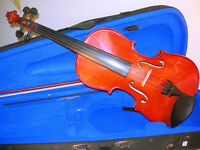Violin with Case & Bow (WH_0188)