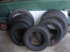 collection of new old stock classic car tires for sale