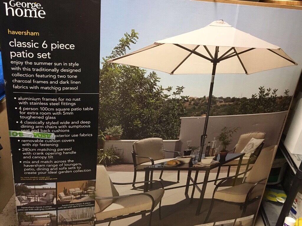 Garden Furniture Cheshire Haversham 6 piece garden furniture set in broughton cheshire haversham 6 piece garden furniture set workwithnaturefo