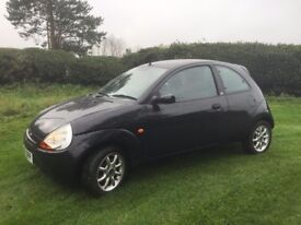 CHEAP CAR LOW MILEAGE FORD KA. 2008. MOT. SERVICE HISTORY