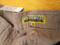 Workware protective clothing - work shorts various colours NEVER WORN size 36-38