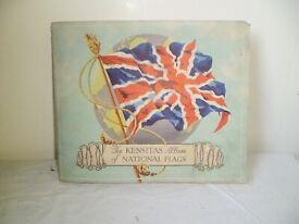 KENSITAS ALBUM OF NATIONAL FLAGS FROM 1934