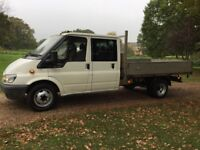 2006 FORD TRANSIT 350 DROPSIDE DOUBLE CAB PICK UP 2.5 DIESEL L/W/B