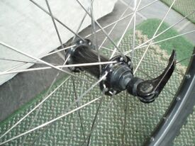 26 inch MTB/ATB quick release wheel with very good off-road tyre.
