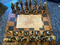 All Metal Piece Chess set