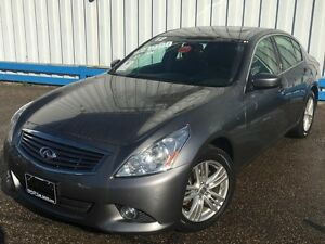 2012 Infiniti G37X  AWD *LEATHER-SUNROOF*