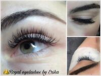Individual eyelashes 2D 3D ❤️For more information write me in private