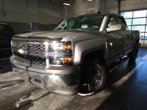 2015 Chevrolet SILVERADO 1500 4WD DOUBLE CAB MAG 20 POUCES/TELED