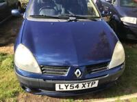 2005 RENAULT CLIO 1.2 VERY GOOD CONDITION DRIVES PERFECT NO FAULTS 70000 MILES MOT TILL APRIL 2019